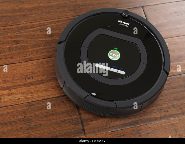 Cleaning robot stock photos cleaning robot stock images alamy irobot roomba 770 household vacuum cleaning robot on hardwood floor stock image ccuart Choice Image