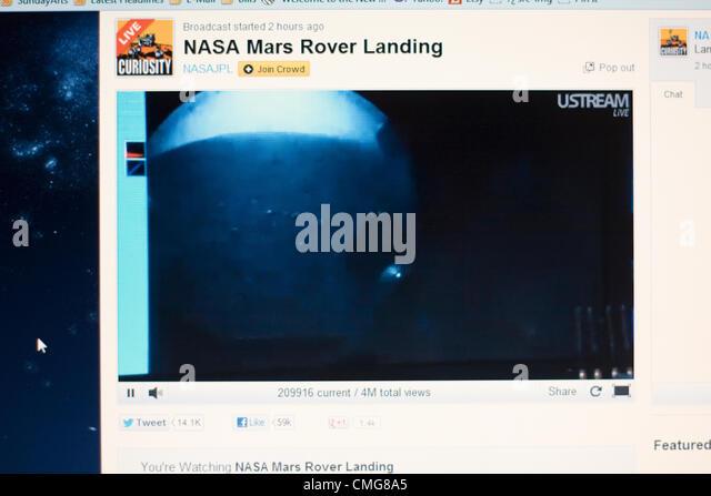 nasa mars rover live feed - photo #25