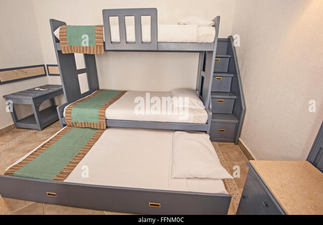 bunk bed stock photos & bunk bed stock images - alamy