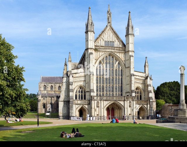 Winchester stock photos winchester stock images alamy - Winchester cathedral round table ...