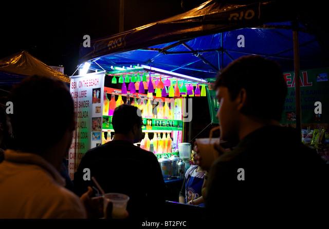Ipanema rio de janeiro bar stock photos ipanema rio de for Miroir night club rio de janeiro