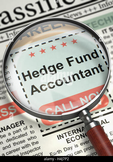 were hiring hedge fund accountant 3d stock image - Mutual Fund Accountant