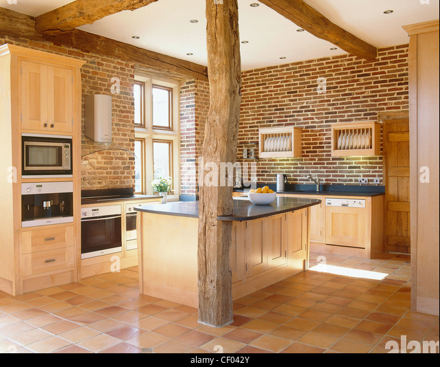 Wooden Kitchens   Stock Image