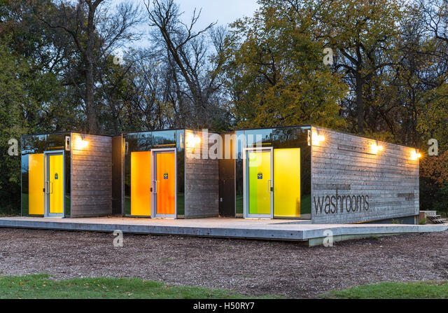 Public bathrooms stock photos public bathrooms stock - Shipping container public bathroom ...