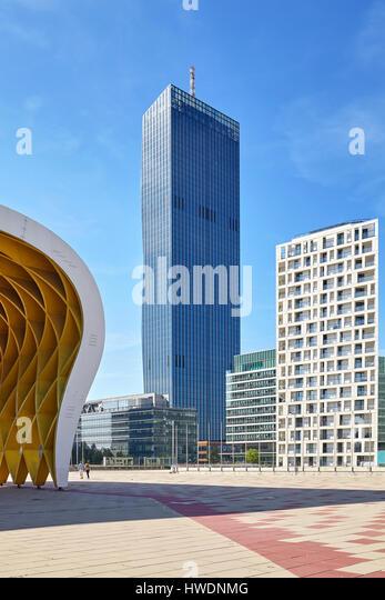 Modern Architecture Vienna modern contemporary architecture vienna stock photos & modern