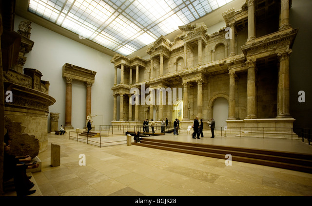 Market Gate Of Miletus Stock Photos & Market Gate Of ...