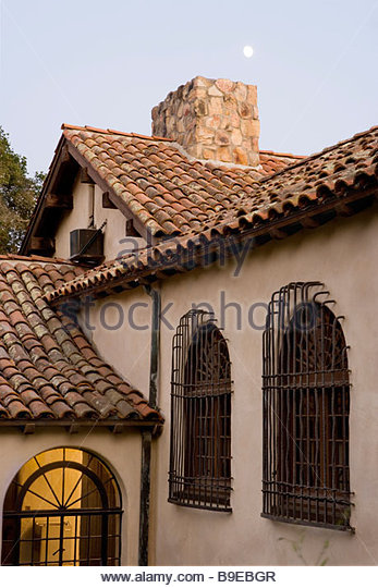 Spanish style home california stock photos spanish style for Style house professional styling iron price