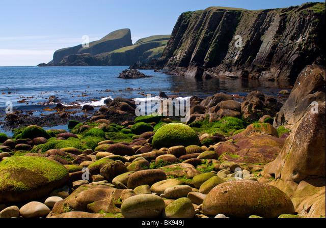 Shetland Fair Isle Coast Stock Photos & Shetland Fair Isle Coast ...
