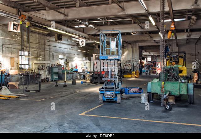 industrial machine shop