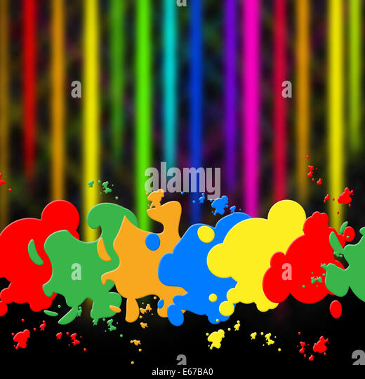 Paint Color Meanings splash color meaning paint colors stock photos & splash color