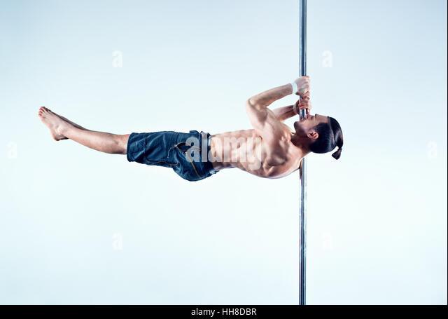 Pole Dancer Man Stock Photos & Pole Dancer Man Stock ...
