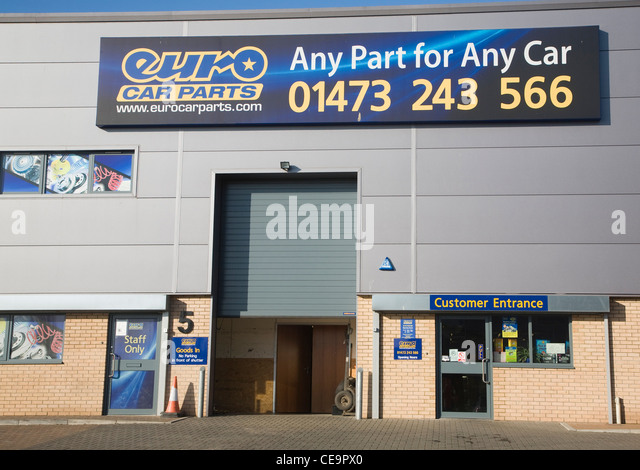 Euro Car Parts Nottingham Address