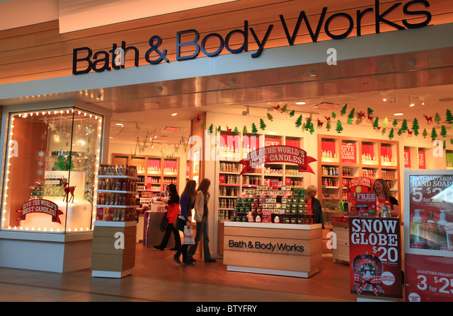 Bath and body works store in Ontario  Canada before 2010 Christmas   Stock  ImageBody Of Works Stock Photos   Body Of Works Stock Images   Alamy. Bath And Body Shop Toronto. Home Design Ideas