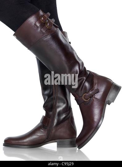 Knee High Boot Stock Photos & Knee High Boot Stock Images - Alamy