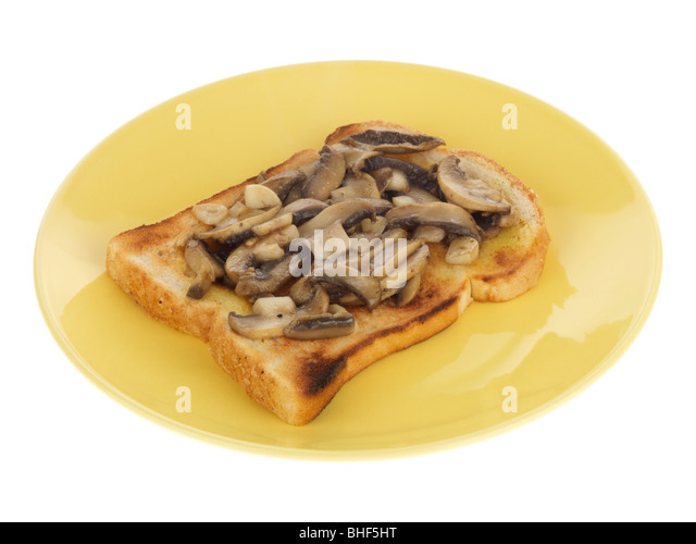 Mushrooms On Toast Stock Photos & Mushrooms On Toast Stock ...