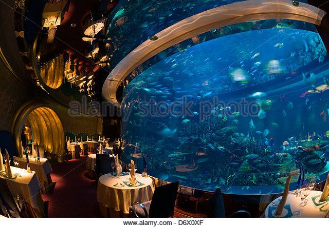 Underwater hotel dubai stock photos underwater hotel for Burj al arab underwater room