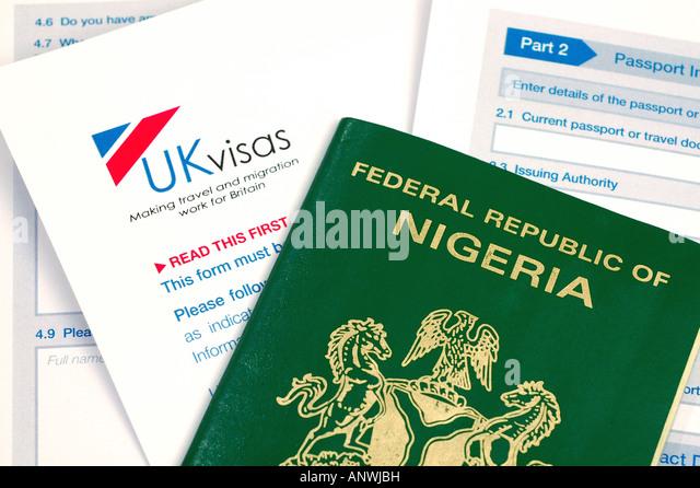 Passport Application Form Uk Applying Stock Photos Passport