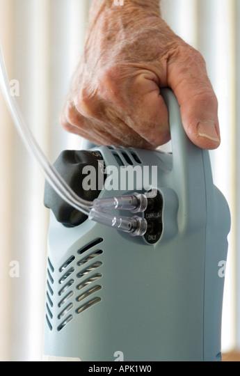 Portable Oxygen Stock Photos Amp Portable Oxygen Stock