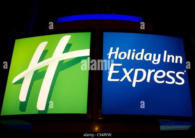 Holiday Inn Express Sign Stock Photos  U0026 Holiday Inn