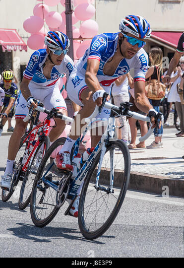 Follina (TV), Italy. 27th May, 2017. Thibaud Pinot of FDJ cycling team stage 20 winner Giro d'Italia 2017 Credit: - Stock Image