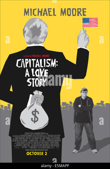 review on michael moores capitalism a Moore's choice to make capitalism his straw man (rather than, say, greed or reagan-era deregulation) puts him in closer company than he might like with some pretty nasty world-historical bedfellows.