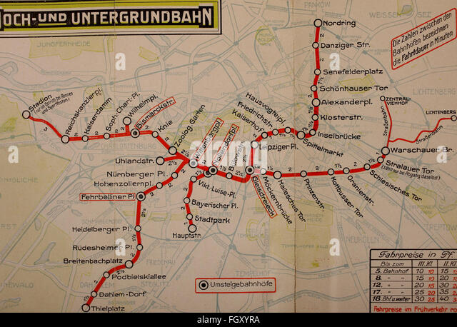 Berlin Stock Photos Berlin Stock Images Alamy - Berlin map 1914