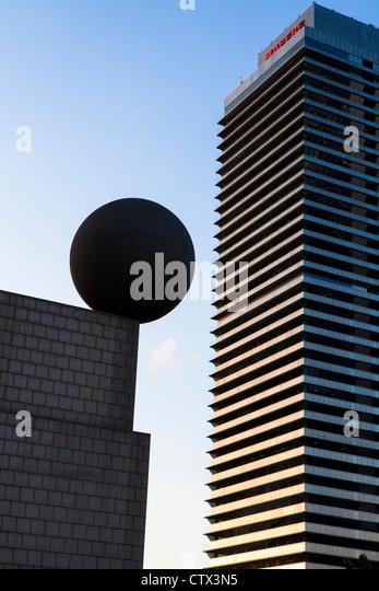 Modern Architecture Barcelona buildings barcelona modern stock photos & buildings barcelona