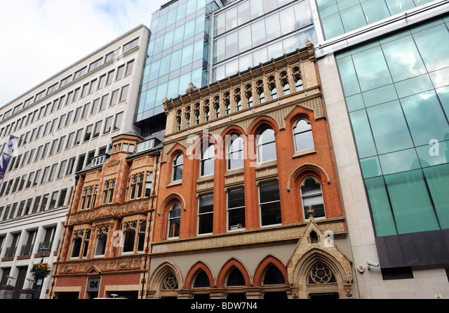 Modern Victorian Architecture victorian and modern architecture stock photos & victorian and