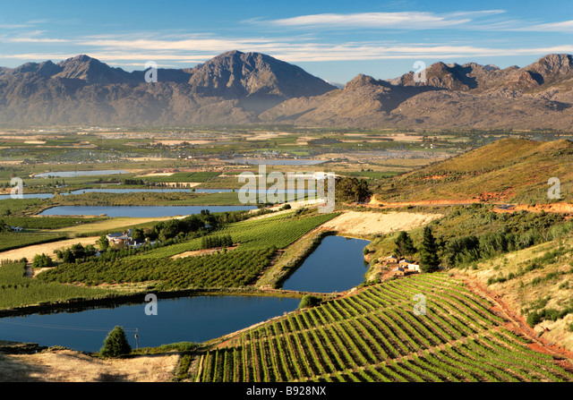 Ceres South Africa  city photos gallery : View of Ceres Valley at dawn Ceres Western Cape Province South Africa ...