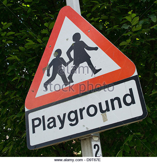 Playground Sign Stock Photos & Playground Sign Stock ...