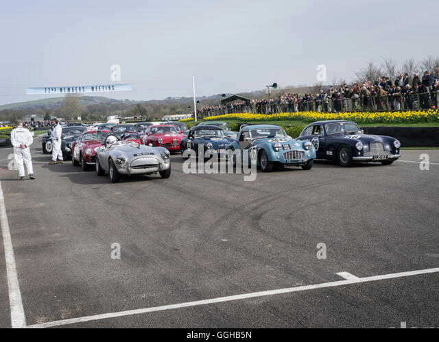 1950s Production Sports And GT Cars, Tony Gaze Trophy, 72nd Members  Meeting, Racing