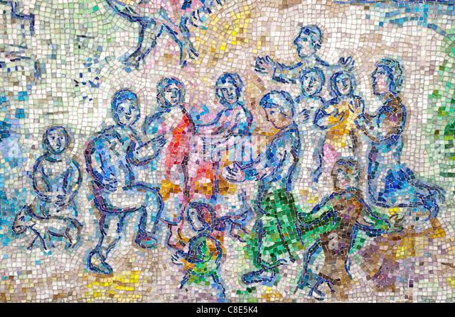 Marc chagall museum stock photos marc chagall museum for Chagall mural chicago