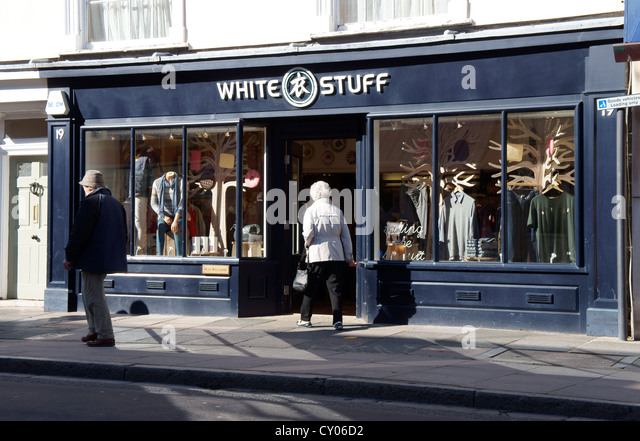 White Stuff Shop Stock Photos & White Stuff Shop Stock ...
