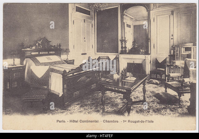 1900 bedroom old bed stock photos 1900 bedroom old bed stock images a - Hotel continent paris ...
