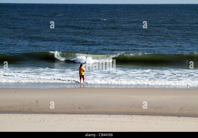 New jersey shore stock photos new jersey shore stock for Jersey shore fishing