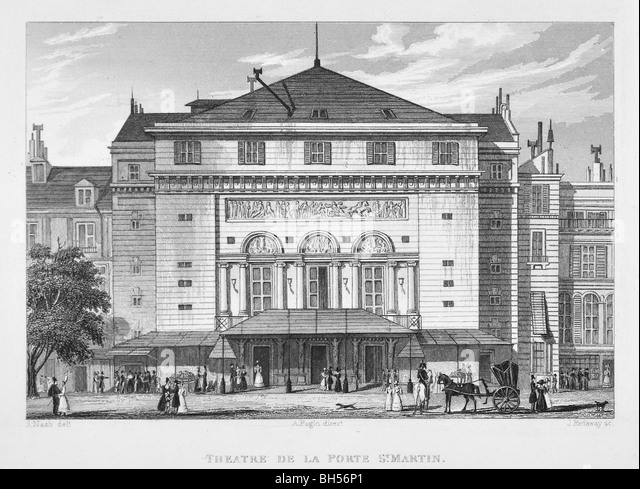 Redaway stock photos redaway stock images alamy - Petit theatre de la porte saint martin ...