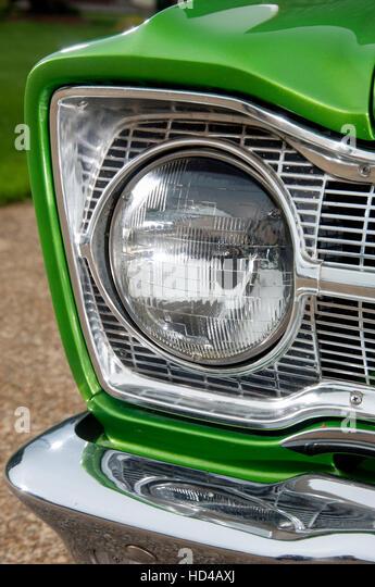 Old Plymouth Headlight : Headlight rims stock photos images