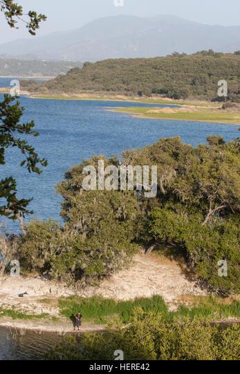 Cachuma lake stock photos cachuma lake stock images alamy for Lake cachuma fishing report