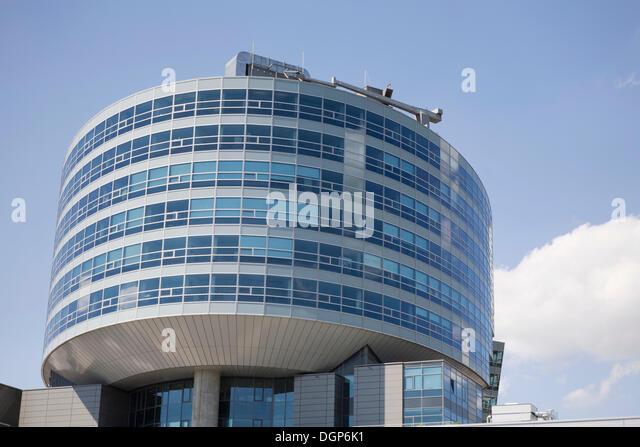 Headquarters mercedes benz stuttgart stock photos for Mercedes benz germany internship
