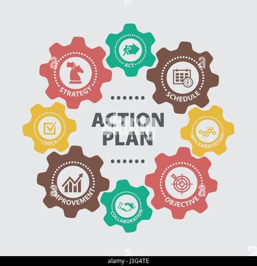 Implementation Plan Icon Vector Business Stock Photos ...  Implementation