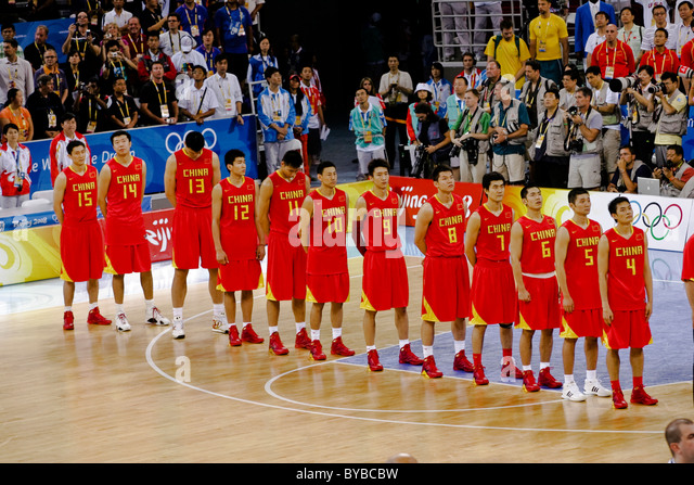 Basketball At The 2008 Summer Olympics Mens Tournament ...