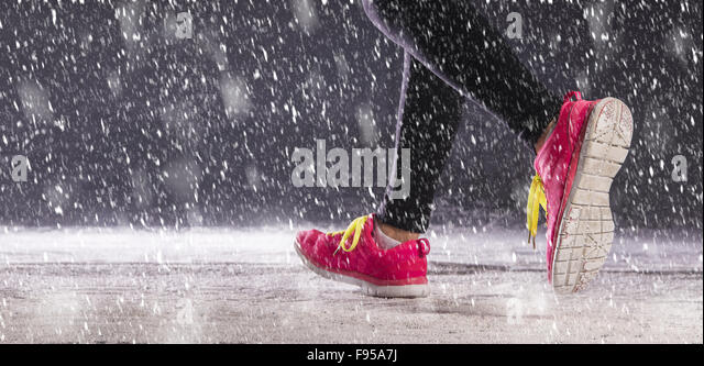 how to start running during winter