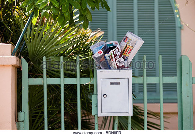 letter a black junk mail mailbox stock photos amp junk mail mailbox stock 16443 | junk mail box bdn8fr