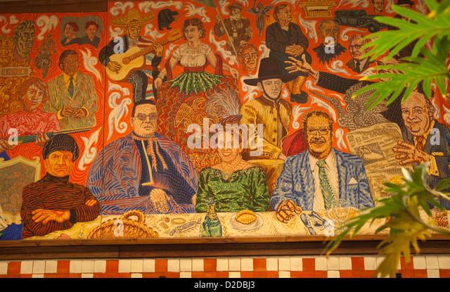 El fresco stock photos el fresco stock images alamy for El mural restaurante puebla
