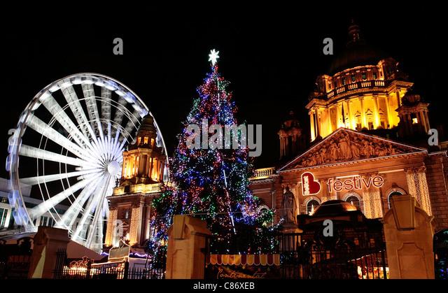 belfast christmas lights