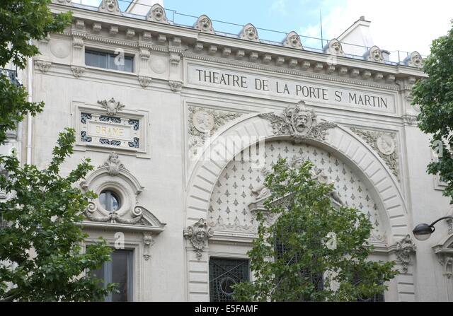Theatre de la porte saint martin stock photos theatre de la porte saint martin stock images - Plan salle theatre porte saint martin ...