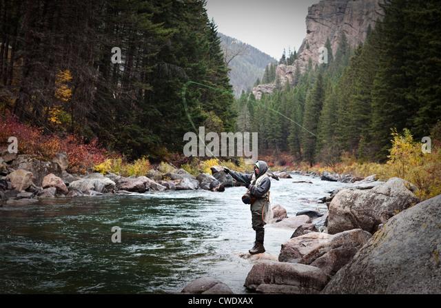 Gallatin river montana stock photos gallatin river for Bozeman mt fly fishing