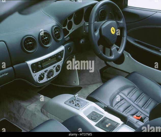2006 Ferrari F430 Interior: Ferrari Interior Stock Photos & Ferrari Interior Stock