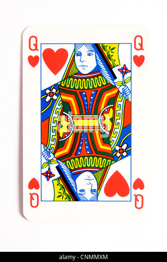 Playing Card Queen Stock Photos & Playing Card Queen Stock ...