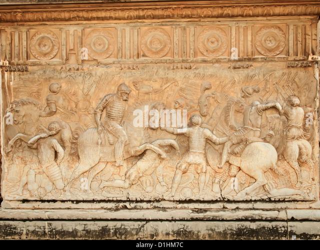 Moorish stone carving alhambra stock photos